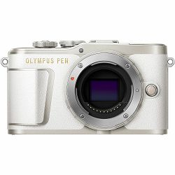 Olympus E-PL9 + 14-42mm White/Silver Pancake Zoom Kit wht/slv Bijeli digitalni fotoaparat s objektivom EZ-M1442EZ incl. Charger & Battery 14-42 Micro Four Thirds MFT PEN Camera (V205092WE000)