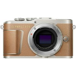 Olympus E-PL9 Body Brown incl. Charger + Battery Mirrorless Micro Four Thirds MFT - PEN Camera Smeđi digitalni fotoaparat (V205090NE000)