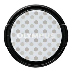 Olympus LC-37PR GDT Dress-Up Lens Cap - grey-spotted V6540036W000