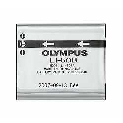 Olympus LI-50B Lithium Ion rechargeable Battery for SP-800/810/720/620UZ, XZ-1, XZ-10, SZ-Series, SH-25MR, SH-21, and TG-830/820/810/630/620/610 baterija za digitalni kompaktni fotoaparat N3605992