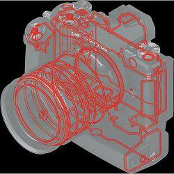 Olympus M. Zuiko Digital 14-150mm f/4-5.6 II Black Allround objektiv EZ-M1415-2 14-150 1:4.0-5.6 zoom lens Micro Four Thirds MFT micro4/3