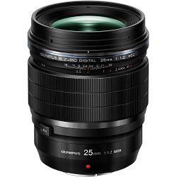 Olympus M. Zuiko Digital 25mm f/1.2 ED PRO objektiv fiksne žarišne duljine ES-M2512PRO.B/W 1:1.2 f1.2 1.2 prime lens Micro Four Thirds MFT micro4/3