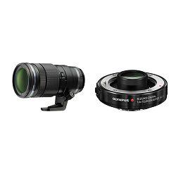 Olympus M. Zuiko Digital 40-150mm f/2.8 PRO + MC 1.4 telefoto objektiv s 1.4x telekonverterom 40-150 1:2.8 f2.8 zoom lens Micro Four Thirds MFT micro4/3