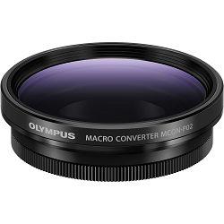 Olympus MCON-P02 Macro Converter for EZ-M1442 IIR, EZ-M1442EZ, ES-M2518, Et-M4518, EW-M1718, EW-M1220 konverter za 4/3