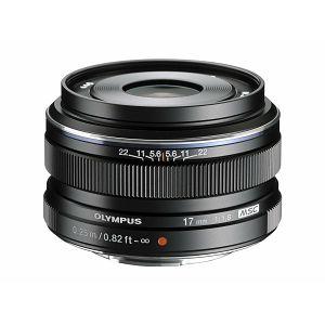 Olympus M.ZUIKO DIGITAL 17mm 1:1.8 / EW-M1718 black Micro Four Thirds MFT - PEN Camera objektiv lens lenses V311050BE000