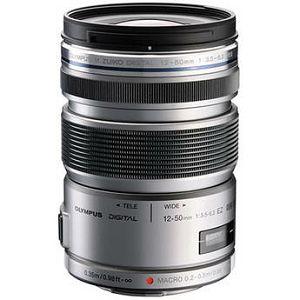 Olympus M.ZUIKO DIGITAL ED 12-50mm 1:3.5-6.3 EZ (electronic zoom) silver / EZ-M1250EZ silver Micro Four Thirds MFT - PEN Camera objektiv lens lenses V314040SE000