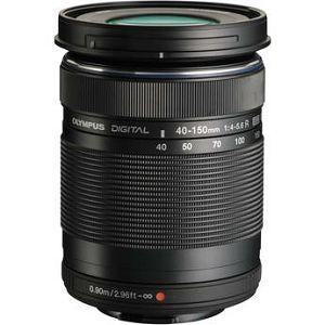 Olympus M.ZUIKO DIGITAL  ED 40-150mm 1:4.0-5.6 R / EZ-M4015 R black Micro Four Thirds MFT - PEN Camera objektiv lens lenses V315030BE000