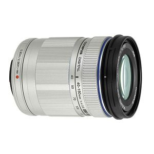 Olympus M.ZUIKO DIGITAL ED 40-150mm 1:4.0-5.6 R / EZ-M4015 R  silver Micro Four Thirds MFT - PEN Camera objektiv lens lenses V315030SE000
