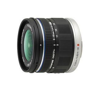 Olympus M.ZUIKO DIGITAL ED 9-18mm 1:4.0-5.6 / EZ-M918 black Micro Four Thirds MFT - PEN Camera objektiv lens lenses N3850192