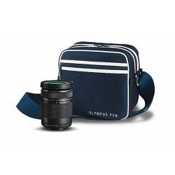 Olympus PEN Zoom Kit black  (incl. EZ-M4015 R & Street Case M) V315030BE010 only valid when bought with a PEN