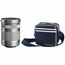 Olympus PEN Zoom Kit silver  (incl. EZ-M4015 R & Street Case M) V315030SE010 only valid when bought with a PEN
