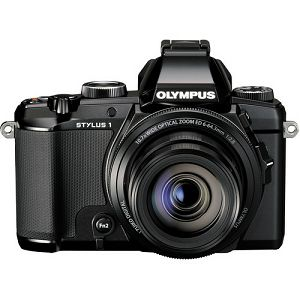 Olympus STYLUS 1 Black 12.0 MP 1/1.7-inch backlit CMOS, 10,7x wide Zoom 1:2.8 lens, 3.0