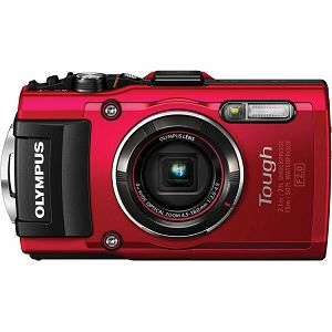 Olympus TG-4 Red 16.0 MP f2.0 4x wide Zoom, 3.0