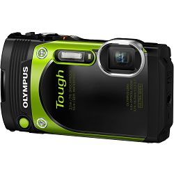 Olympus TG-870 Green - 16.0 MP 5x super wide Zoom, 3.0