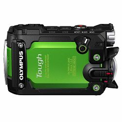 Olympus TG-Tracker Green - 7.2MP 204° ultra-wide, waterproof, shockproof, cushproof, freezeproof, 4K 60p, 5-Axis, Time Lapse Movie WiFi GPS digitalni kompaktni vodootporni fotoaparat V104180EE000