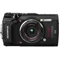 Olympus Tough TG-5 + LG-1 KIT Black crni WiFi GPS 4K video 120p 12MP 25-100mm f2.0 Digitalni podvodni vodonepropusni fotoaparat (V104190BE050)