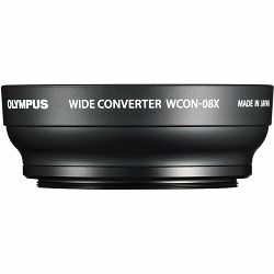 Olympus WCON-08X Wide Converter Lens for Stylus 1 za digitalni kompaktni fotoaparat za Stylus Series V321220BW000