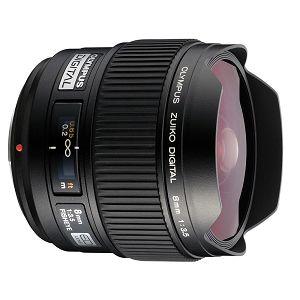 Olympus Zuiko Digital ED 8mm 1:3.5 Fisheye / EF-0835  PRO Digital SLR DSLR objektiv lens lenses N2127892