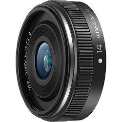 Panasonic 14mm f/2.5 II Asph Black Lumix G Pancake širokokutni objektiv za Micro Four Thirds MFT micro4/3