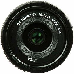Panasonic 15mm f/1.7 Asph Leica DG Summilux širokokutni objektiv za Micro Four Thirds MFT micro4/3