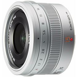 Panasonic 15mm f/1.7 Asph Silver Leica DG Summilux širokokutni objektiv za Micro Four Thirds MFT micro4/3