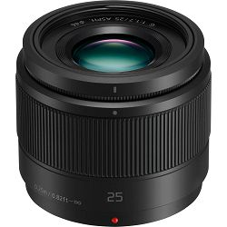 Panasonic 25mm f/1.7 Asph Black (bulk) Lumix G standardni objektiv za Micro Four Thirds MFT micro4/3