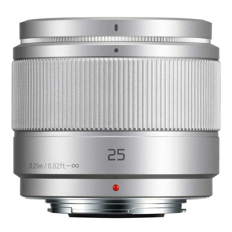Panasonic 25mm f/1.7 Asph Silver (bulk) Lumix G standardni objektiv za Micro Four Thirds MFT micro4/3