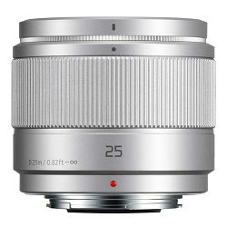 Panasonic 25mm f/1.7 Asph Silver Lumix G standardni objektiv za Micro Four Thirds MFT micro4/3