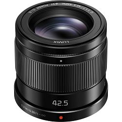 Panasonic 42.5mm f/1.7 Asph Power O.I.S. Black Lumix G telefoto objektiv za Micro Four Thirds MFT micro4/3