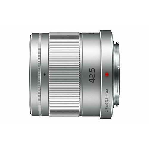Panasonic 42.5mm f/1.7 Asph Power O.I.S. Silver Lumix G telefoto objektiv za Micro Four Thirds MFT micro4/3