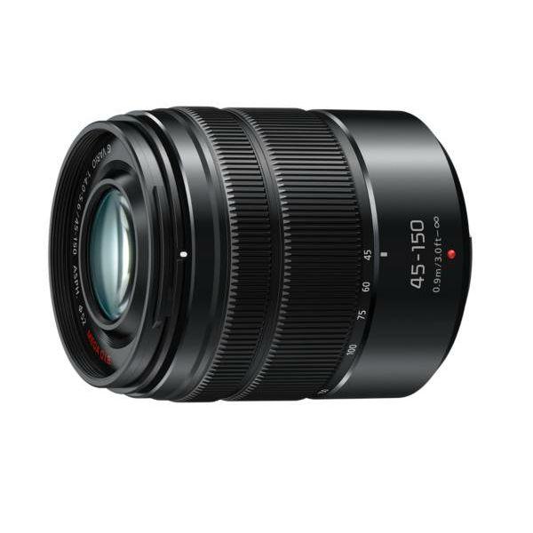 Panasonic 45-150mm f/4-5.6 Asph Mega O.I.S. Black crni telefoto objektiv Lumix G Vario 45-150 4.0-5.6 (H-FS45150EKA)