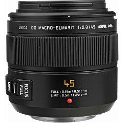 Panasonic 45mm f/2.8 Asph Mega O.I.S. Macro 1:1 Leica DG Macro-Elmarit objektiv za Micro Four Thirds MFT micro4/3