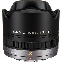 Panasonic 8mm f/3.5 Lumix G Fisheye objektiv za Micro Four Thirds MFT micro4/3