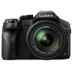 Panasonic Lumix DMC-FZ300EPK WiFi 4K 25x zoom Digitalni kompaktni Bridge fotoaparat s objektivom 25-600mm f/2.8