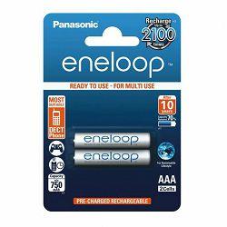 Panasonic Enelop 2xAAA R03 800mAh punjive baterije blister BK-4MCCE/2BE