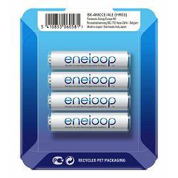 Panasonic Enelop 4xAAA R03 800mAh punjive baterije + kutijica za baterije blister BK-4MCCEC4BE