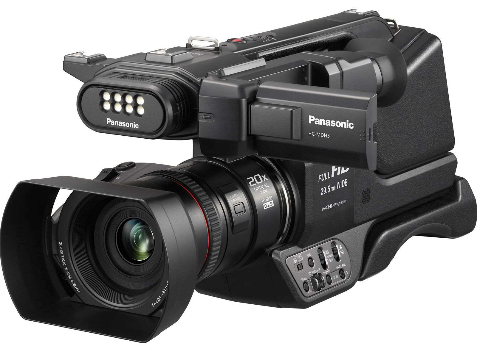 Panasonic HC-MDH3 Full HD Camcorder Digitalna video kamera kamkorder (HC-MDH3E)