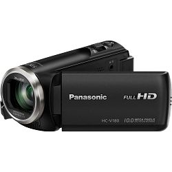 Panasonic HC-V180 Full HD Camcorder Digitalna kompaktna video kamera kamkorder HC-V180EP (HC-V180EP-K)