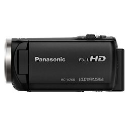 Panasonic HC-V260 Full HD Camcorder Digitalna kompaktna video kamera kamkorder HC-V260EP (HC-V260EP-K)