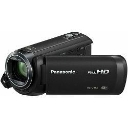 Panasonic HC-V380EG-K black crna kompaktna kamera FullHD 5-axis OIS stabilizacija (HCV380EGK)