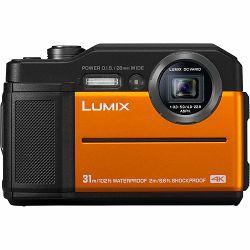 Panasonic Lumix DC-FT7 Orange vodootporni podvodni digitalni fotoaparat (DC-FT7EP-D