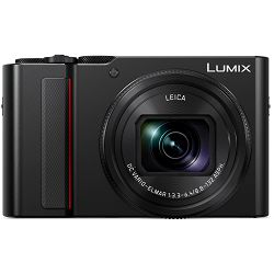 Panasonic Lumix DC-ZS200 Black Digital Camera crni digitalni fotoaparat DC-TZ200 (DC-ZS200K)