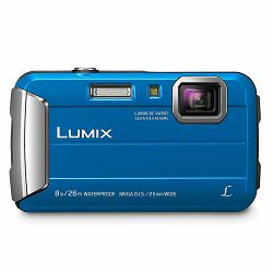 Panasonic Lumix DMC-FT30 Blue plavi vodootporni podvodni Digitalni kompaktni fotoaparat DMC-FT30EP (DMC-FT30EP-A)