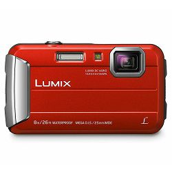 Panasonic Lumix DMC-FT30 Red crveni vodootporni podvodni Digitalni kompaktni fotoaparat DMC-FT30EP (DMC-FT30EP-R)