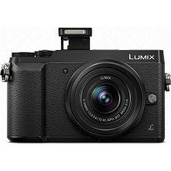 Panasonic Lumix GX80 + 12-32mm f/3.5-5.6 Asph Mega O.I.S. Black 4K Mirrorless bezrcalni digitalni fotoaparat DC-GX80 s objektivom G Vario 12-32 Micro Four Thirds Digital Camera (DMC-GX80KEGK)