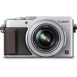 Panasonic Lumix DMC-LX100EPS Silver WiFi 4K srebreni Digitalni kompaktni fotoaparat DMC-LX100- BLACK FRIDAY