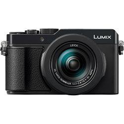 Panasonic Lumix DMC-LX100 Mark II black crni Digitalni kompaktni fotoaparat s objektivom Leica DC Vario-Summilux 24-75 f/1.7-2.8 DMCLX100 MK2 DC-LX100M2 (DC-LX100M2EG)