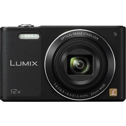 Panasonic Lumix DMC-SZ10 Black HD Digitalni kompaktni fotoaparat DMC-SZ10EP (DMC-SZ10EP-K)