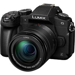 Panasonic Lumix G7 + 12-60mm f/3.5-5.6 Asph Power O.I.S. Black 4K Mirrorless bezrcalni digitalni fotoaparat DMC-G7 s objektivom H-FS12060 G Vario 12-60 Micro Four Thirds Digital Camera (DMC-G7MEG-K)