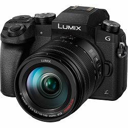 Panasonic Lumix G7 + 14-140mm f/3.5-5.6 ASPH O.I.S. Black crni (DMC-G7HEG-K) Digitalni fotoaparat s objektivom G Vario Mirrorless Micro Four Thirds Digital Camera